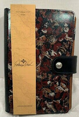 Patricia Nash Chieti Agenda Scarlet Bloom Collection $79 NWT EXCLUSIVE