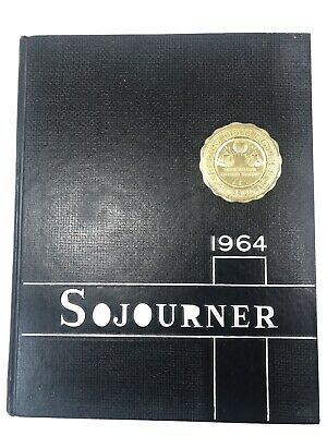 Vintage College 1964 Year Book Sojourner Baptist Bible College Very Nice!
