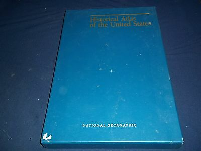 1993 National Geographic's Historical Atlas Of The United States - Maps - Kd 511