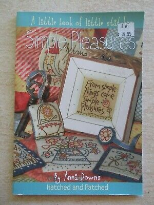 Simple Pleasures~Anni Downs~Little Book of Little Stitches~Embroidery~Quilting
