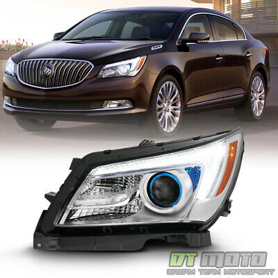 NEW 2014-16 Buick LaCrosse Halogen LED Projector Headlight Headlamp Driver Side