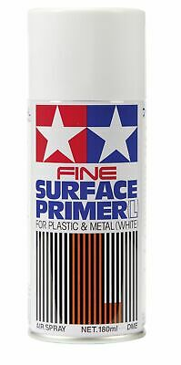 Tamiya Bomboletta Spray Primer Liquido Bianco 180ml 300087044 87042 (5,55 €/