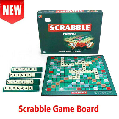 Original Scrabble Board Game Family Kids Adults Educational Toys Puzzle Game BK