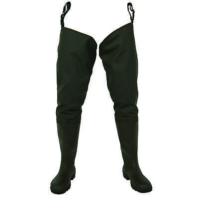RON THOMPSON ONTARIO Chest Waders taille 44 de CUISSARDES angelhose Watstiefel NEUF