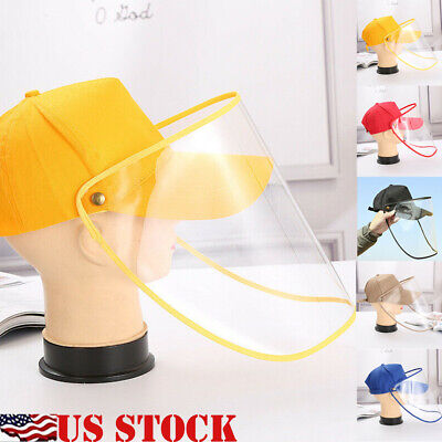 US Anti  Safety Hat Anti Fog Dust Splash-proof Hat Work Face Protection Cap