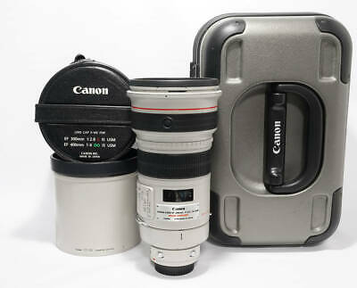 [Near Mint] Canon EF300mm F2.8L IS USM with Case Camera Lens From Japan #7237