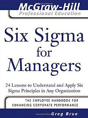 Seis Sigma para Managers: 24 Lessons a Understand y Aplicar Principles