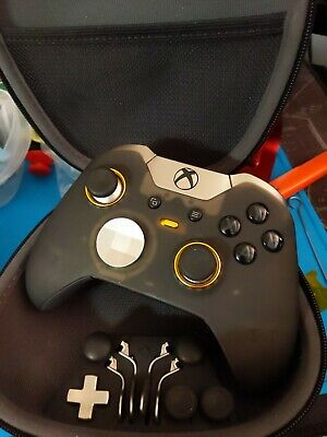 Xbox One Elite Controller Custom Built Scuf Package