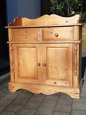 Antique hall cupboard with lovely features