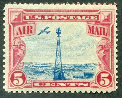 US  C11  Beautiful  Mint  NEVER  Hinged AIR  MAIL  UPTOWN