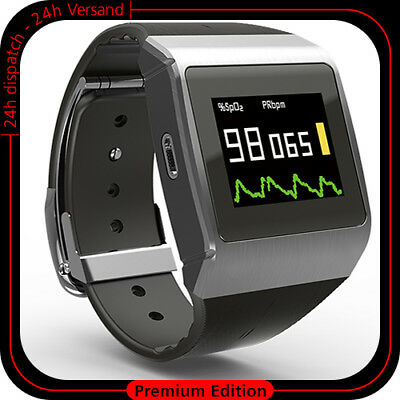 Portable Ecg Monitor Watch Heart Rate Pedometer Pulse Oximeter Calorie Oma