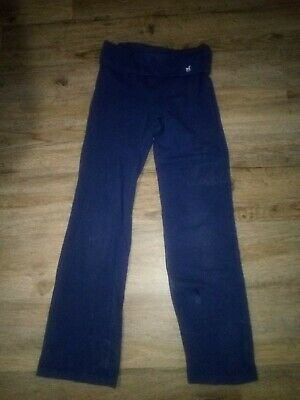 Girls Old Navy Blue Navy Yoga Pants Sz M (8) Cute!!