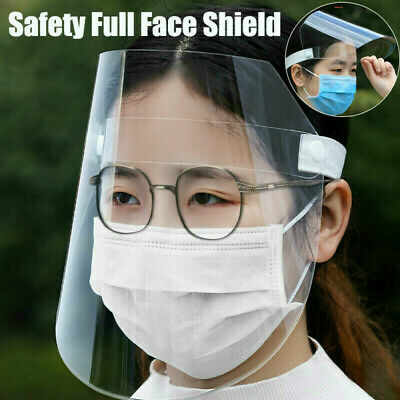 Safety Full Face Shield + Clear Flip-up Visor Shop Work Industry Dental Medical