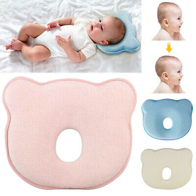 Baby Cot Pillow Prevent Flat Head Soft Memory Foam Cushion Sleeping Support