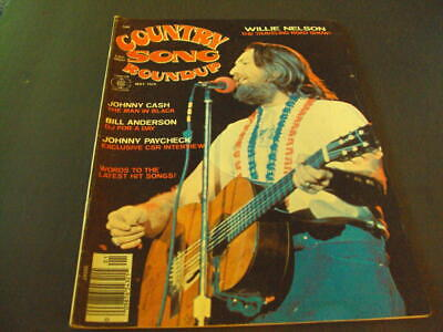 Country Song Roundup May 1976 Johnny Cash, Willie Nelson       ID:37535