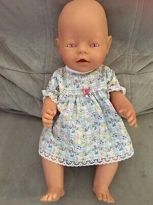 Baby Born Bjorn Pink Eye Original Doll Good Condition With Outfit