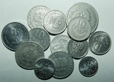 Poland : Collection Of Old Coins - Many High Grade