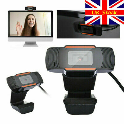 Rotatable 2.0 HD Webcam PC Digital USB Camera Video Recording with Microphone,