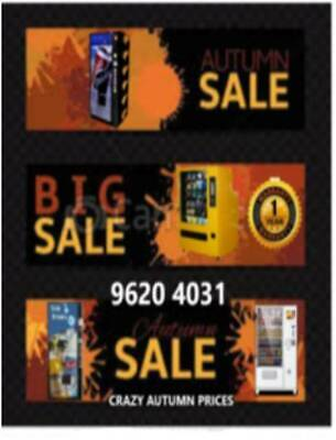 Vending Machines - (Snack or Drink Machines) -  Stock Clearence