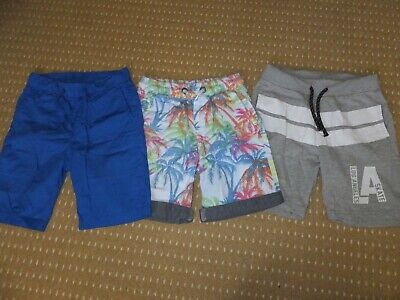 boys shorts bundle 3 pairs age 7-8 years Next, H&M & FF