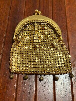 Vintage Small Coin Gold Glomesh Purse