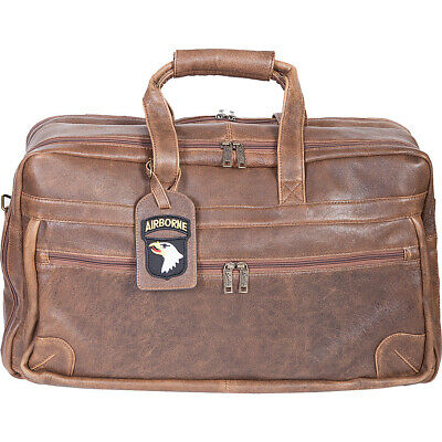 Scully Squadron Duffel - Antique Brown Travel Duffel NEW