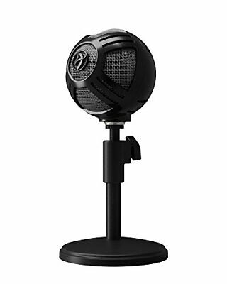 Arozzi Sfera PRO USB Microphone for Gaming  Streaming  Black