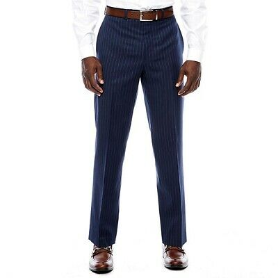 Collection Michael Strahan Mens Classic Fit Striped Suit Pants Size 50 X 32 NWT