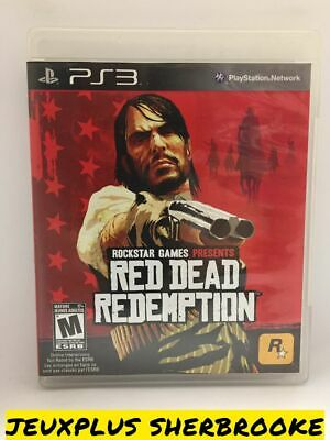 Red Dead Redemption RDR (Sony PlayStation 3 PS3, 2010) (COMPLETE IN BOX)