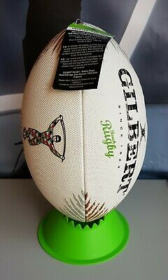 Gilbert Harlequins Beach Rugby Ball Size 4 BRAND NEW with tags