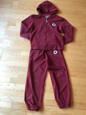 Red Converse All Stars Sweat Suit Age 10-12