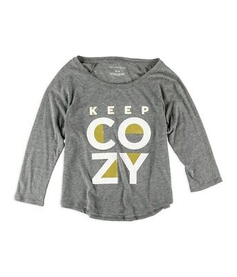 Aeropostale Womens Keep Cozy Pajama Sleep T-Shirt