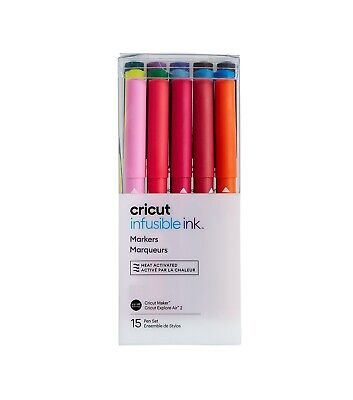 *New* Cricut INFUSIBLE INK FREEHAND MARKER DUAL TIP BASIC Unopened Free Ship