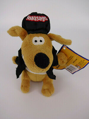 Talking Snocrates Snausages Collectible Toy Stuffed Animal Dog Plush NOS New