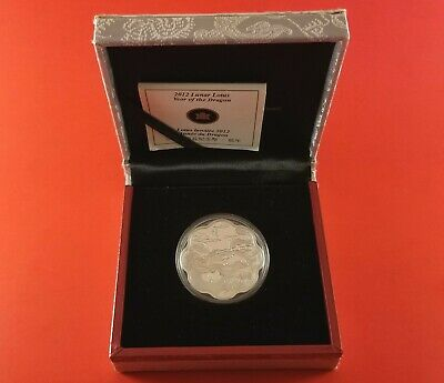 2012 Canada $15 Lunar Lotus Year Of The Dragon 26.7G's .9999 05680/48888