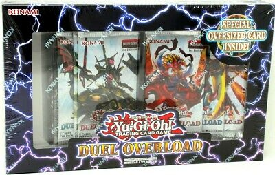 Yugioh Duel Overload 12 Box Case Blowout Cards