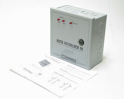 Kussmaul 091-197 Auto Interlock IV Transfer Switch