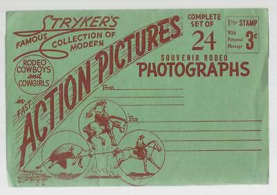 Stryker's Famous Collection Of Modern Rodeo Cowboys & Cowgirls Photos