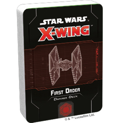 Star Wars X-Wing 2nd Edition : First Order Damage Deck