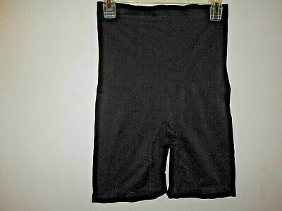 Vintage Ladies YUMMIE Panty Girdle Size L-XL Black Long Legs/ High Waisted EUC