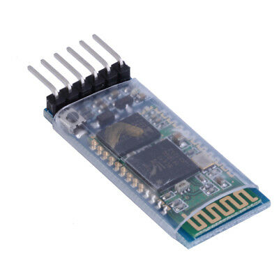 1pc HC-05 6 Pin Wireless Bluetooth RF Transceiver Module Serial kvv