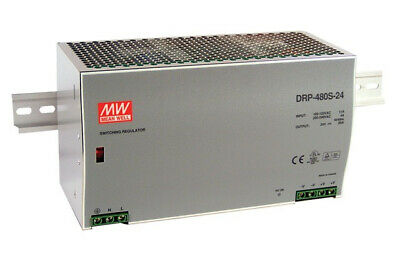 Meanwell MEAN WELL DRP-480-24 - 480 W - 180 - 264 V - 47 - 63 Hz - 89%