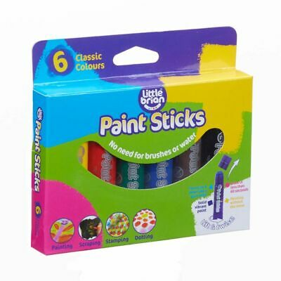 Little Brian Paint Sticks Classic 6 Pack *