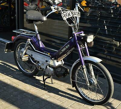 * SOLD * 1975 PUCH MAXI - S 49cc CLASSIC MOPED * PROJECT * PEDAL AND POP
