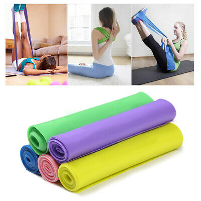 New Resistance bands Exercise Loop Band Set Fitness Gym Elastic Hip Booty Band n