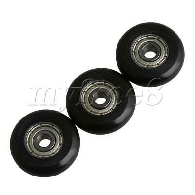 Small Low Speed Pulley Wheel Roller Arc Circular Transmission Parts Pack of 4