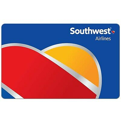 $75 Southwest Airlines LUV Voucher Expires 10/8/2020 (Email Delivery)