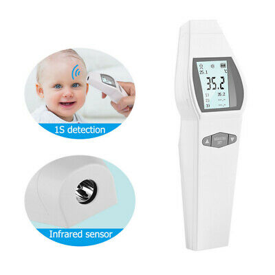 Baby Adult Head Forehead No-contact Touch IR Infrared Digital LCD Thermometer