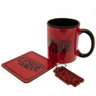 Stranger Things Mug, Coaster and Keychain Gift Set Official Licensed Product
