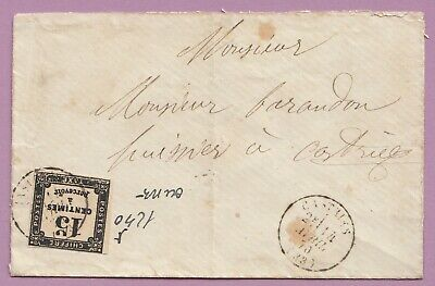Taxe N°3 Castries Herault Lettre Cover